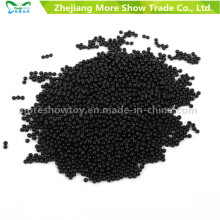 Gel de solo de cristal preto Geléia bola água pérolas decoração de casamento