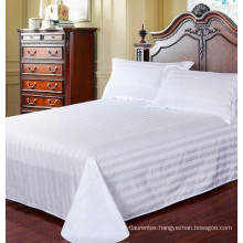 Luxury 100%cotton/polyester bed sheets/bedding set for hotel/hospital/home