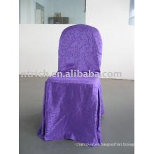 Cubierta de silla Jacquard, cubierta de silla de hotel / banquete