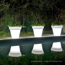 good price Indoor/Outdoor flower solar powered led light decorative solar flower pot
