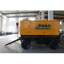 150кВА Двигатель Cummins 4-х колесный прицеп-генератор