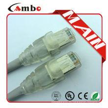 De buena calidad UTP / FTP Cat5e / Cat6 / Cat7 rj45 rj11 cable de remiendo / cable de remiendo