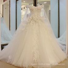 RP56410 bolsa de amostra real boné vestido de bola quente e sexy novo espartilho escarpado vestidos de casamento exóticos