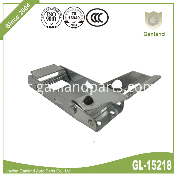 zinc plated buckle GL-15218
