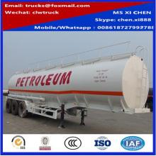 40000liters huile Transport carburant pétrolier remorque à vendre
