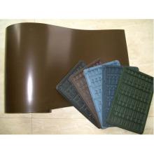 Película HIPS rígida termoformada para bandejas de embalaje electrónico