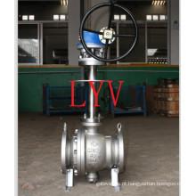 Válvula de bola de aço inoxidável criogênica do API com baixa temperatura usada para a transplação do gás