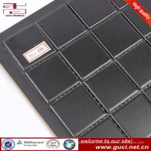 Venta caliente producto negro piscina diseño azulejo mosaico de cerámica