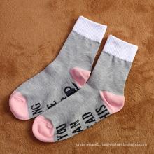High quality tailored socks cute knitted letter ankle socks for women