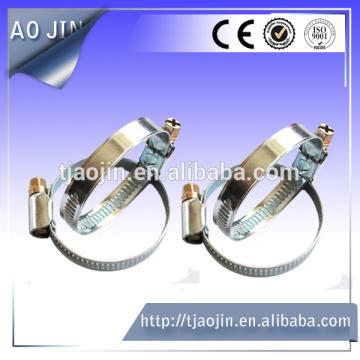 Abrazadera de tubo zincado