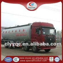 Neue 8 * 4 Trockenmasse Zement Pulver Lieferwagen, Massen Zement Anhänger