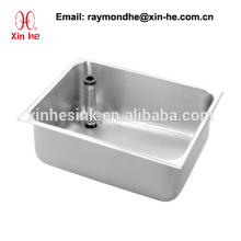 Europe EU Commercial Kitchen Catering Sink Scullery Basin for Restaurant, Bespoke Stainless Steel Compartment Sink Bowl Unit