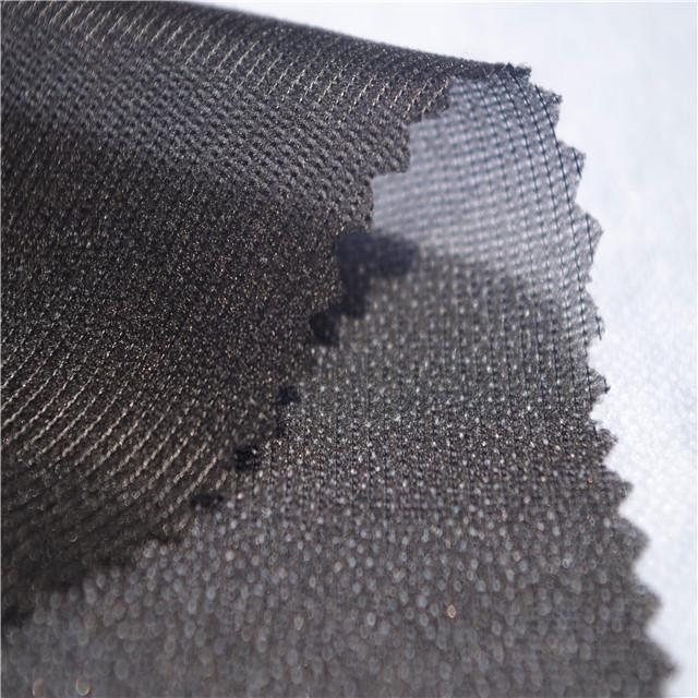 Stretch Fusible Tricot Polyester Woven Interlining