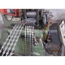 proteção de rede concertina segurança BTO-22 farpado arame farpado fita à venda