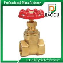 Nível superior de venda quente 200 wog latão manual válvula de portão
