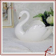 Schwan Form Keramik niedlichen Aschenbecher