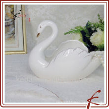 swan shape ceramic cute ashtrays