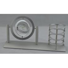 Reloj de mesa de regalo de aluminio (DZ39)