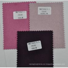 100% erdos cachemira tela rosa color púrpura para las mujeres