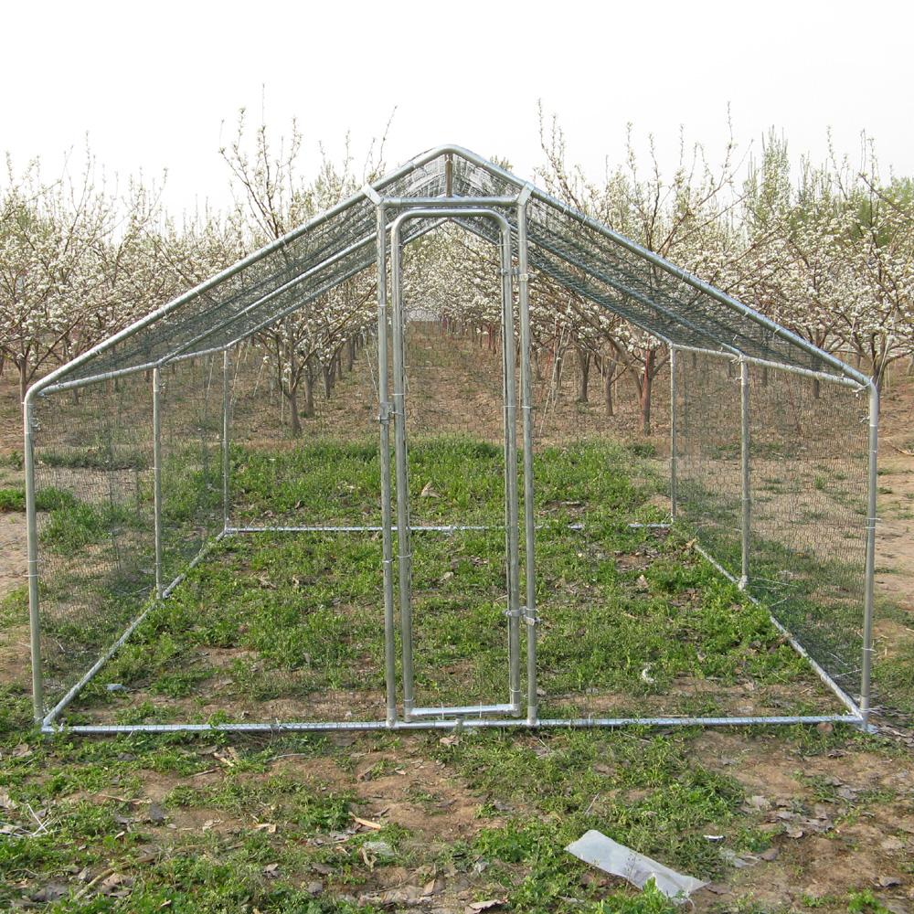 2x3x2m Metal Chicken Run Coop Enclosure With Bv S Audit