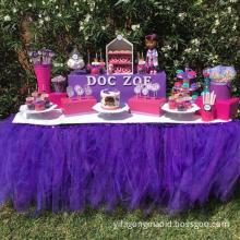 Table Skirting Birthday Wedding Table Skirt
