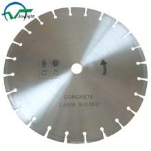 Outil de coupe à lame scie à diamant soudé au laser (JL-LWDB)