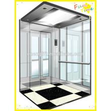 Недорогой пассажирский лифт с небольшой машинной комнатой