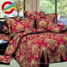 brand new fabric printed bed sheet set bedding supplier