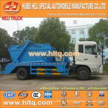 10cbm 190hp DONGFENG 4x2 überspringen loader Müllwagen / Arm Roll Container Müll LKW / Müll LKW niedrigen Preis hohe Qualität