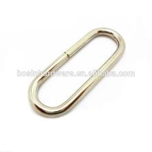 Art- und Weisequalitäts-Metallgroßer ovaler Ring