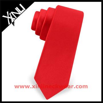 Cravate rouge naturelle