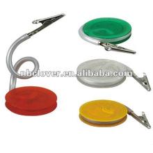 plastic paper clip holder
