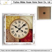 Alta calidad baja MOQ personalizado reloj de pared