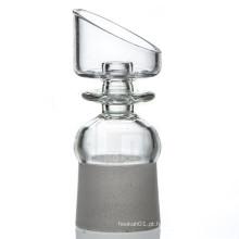Domeless Quartz Nail para fumantes de tabaco com fêmea angular (ES-QZ-011)