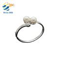 Personalized Adjustable 925 Sterling Silver Bangle Cuff Bracelet