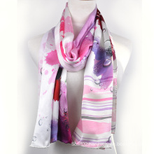 Digital Printed Silk Shawl (13-BR110303-8)