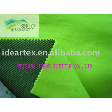 Polyester Mesh Bonded Polar Fleece Soft shell fabric for Jacket