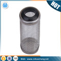 Aquarium accessories 70*30mm stainless steel fish shrimp protection pipe sleeve mesh screen