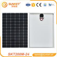 лучшая цена 200 W солнечный panel200 ватт складной панели солнечных батарей 200 Вт монокристаллического солнечной панелью CE и TUV в
