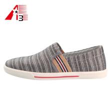 Nuevo diseño de zapatos cómodos de lona para hombres