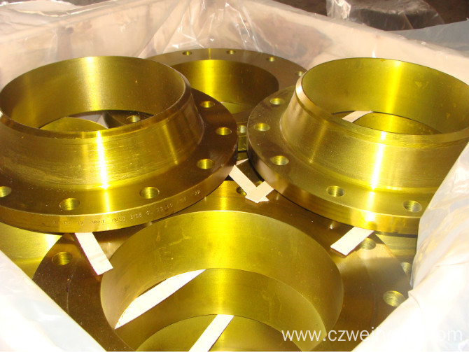 Hubbed slip-on welding steel pipe flanges