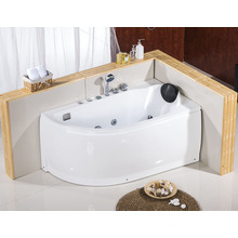 1400mm Small Bah Tub for Small Bathroom Offset Corner Bath Tub