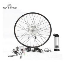 Kit de convection de bicyclette électrique de moteur de moyeu de roue arrière ou avant de TOP 36V 350W à vendre