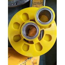 Rodas de rolos de acionamento de uretano de papel de etiqueta personalizada