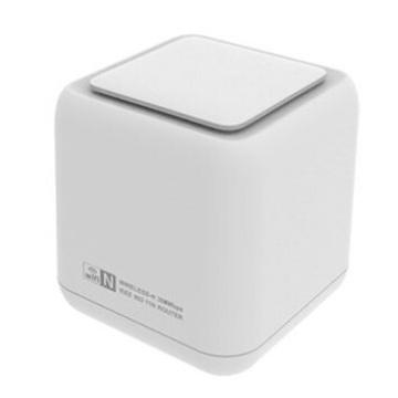 Сенсорная связь N300 Smart Wifi Router, уникальный дизайн мини-беспроводного маршрутизатора одним нажатием ссылки без пароля