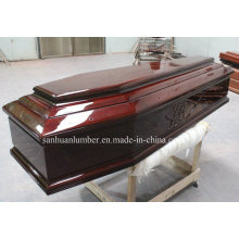 Euro Style Wooden Casket&Coffins/ High Gross Casket& Coffins