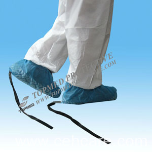 Disposable PE Shoe Covers Machine-Made