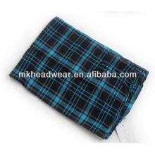 hot sale blue viscose scarf for men