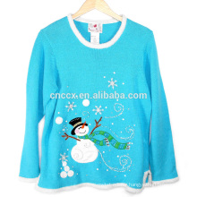 16JW619 snowman Christmas holiday series sweater