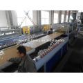Máquina de extrusão de painel de porta de plástico de madeira WPC, ecológica e favorável ao meio ambiente